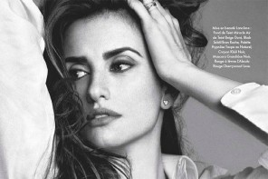 Penelope Cruz Shows Off Lancôme Beauty in Elle France Feature