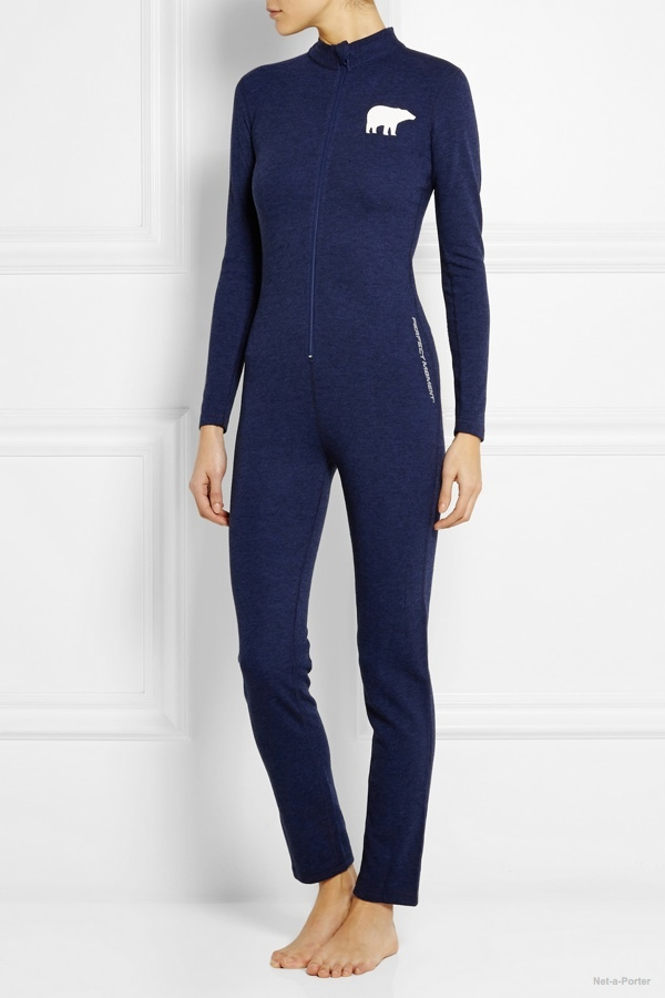 Perfect Moment Knitted jumpsuit available at Net-a-Porter for $310.00