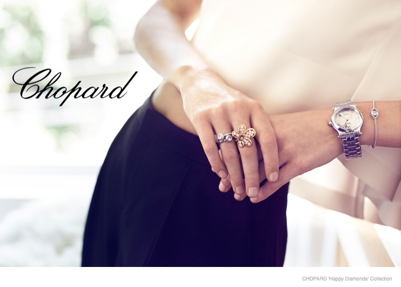 Poppy Delevingne for Chopard