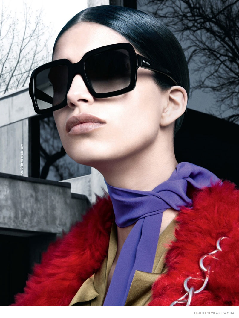 Prada Fall/Winter 2014 Eyewear Campaign Photos