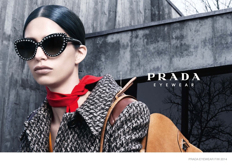 prada fallwinter 2014 eyewear campaign photos