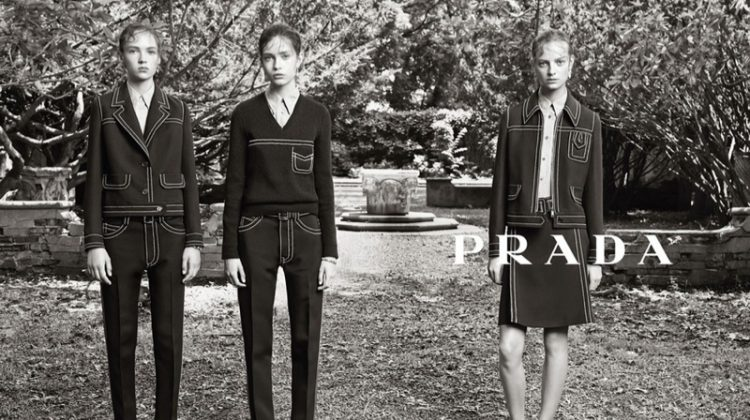 The Resort 2015 Campaign From Prada Has Landed