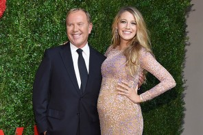 Pregnant Blake Lively Shines in Michael Kors at God's Love We Deliver Golden Heart Awards