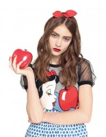 Red Valentino Takes on Snow White for Fall 2014 Collection