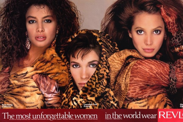 Kara Young, Laurence Treil and Christy Turlington
