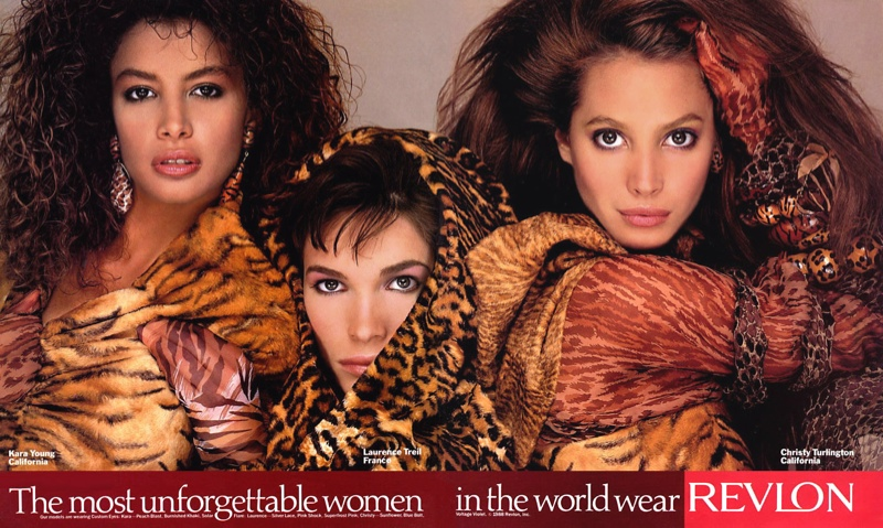 TBT: Revlon Ads in the 80s 'The Most Unforgettable Women in the World'