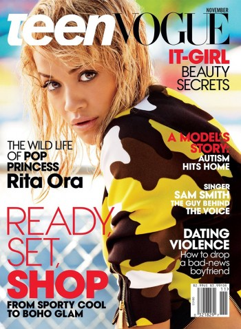 Rita Ora Covers Teen Vogue, Talks Calvin Harris Breakup