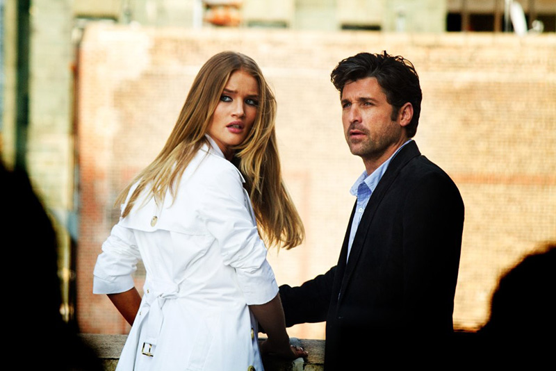 "Rosie Huntington-Whiteley & Patrick Dempsey in ""Transformers: Dark Side"" 2011 Paramount Pictures"