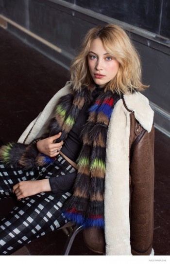 Sarah Gadon Stars in ASOS Magazine, Talks Robert Pattinson