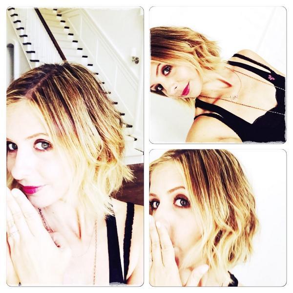 Sarah Michelle Gellar Reveals Short Hairstyle