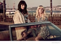 Say Lou Lou Pose in H&M Fashion for Sergi Pons Shoot in Vogue UK