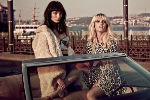 Say Lou Lou Star in H&M Fashion for Sergi Pons Shoot in Vogue UK