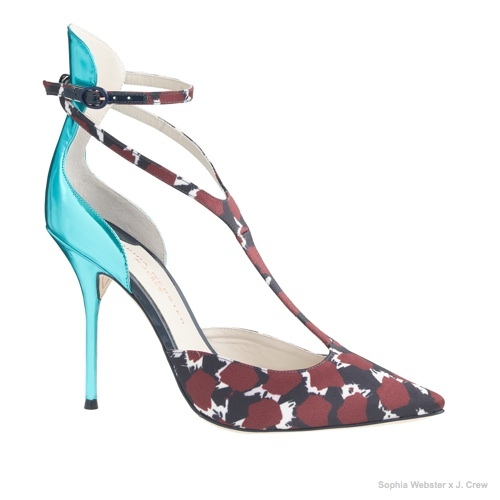 Sophia Webster for J.Crew Eva Pumps available for $595.00