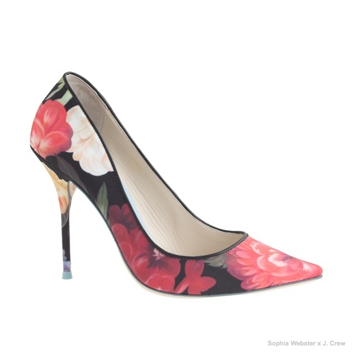 Sophia Webster for J.Crew Lola Pumps available for $320.00