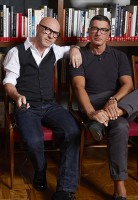 Domenico Dolce & Stefano Gabbana portrait (2013). Photo courtesy of label.