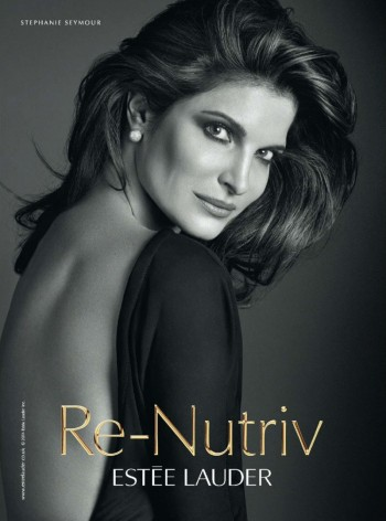 Stephanie Seymour's New Estée Lauder Ad Revealed