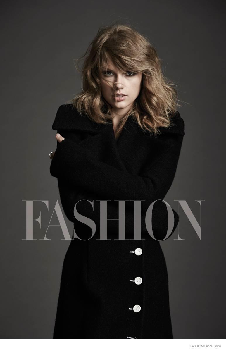 Taylor Swift Stars In FASHION Magazine, Talks New Album