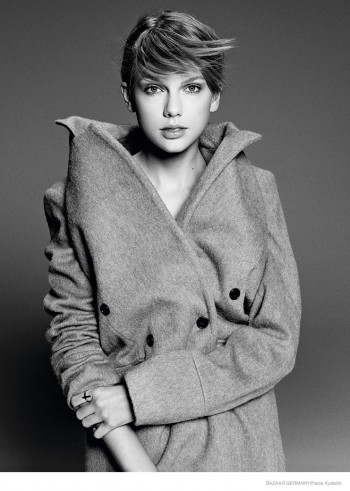 Taylor Swift Goes Minimal in Harper's Bazaar Germany Cover Shoot