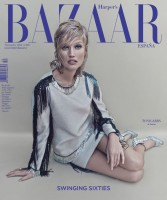 Toni Garrn in Lanvin on Harper's Bazaar Spain November 2014 Cover