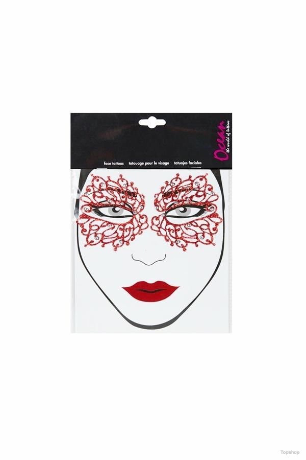 Halloween Mask Face  Sticker