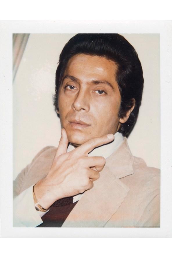 Valentino Garavani. Photo: Andy Warhol/Christies