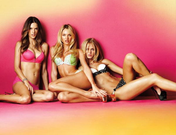 Alessandra Ambrosio, Candice Swanpoel + Erin Heatherton for Victoria's Secret (2012)