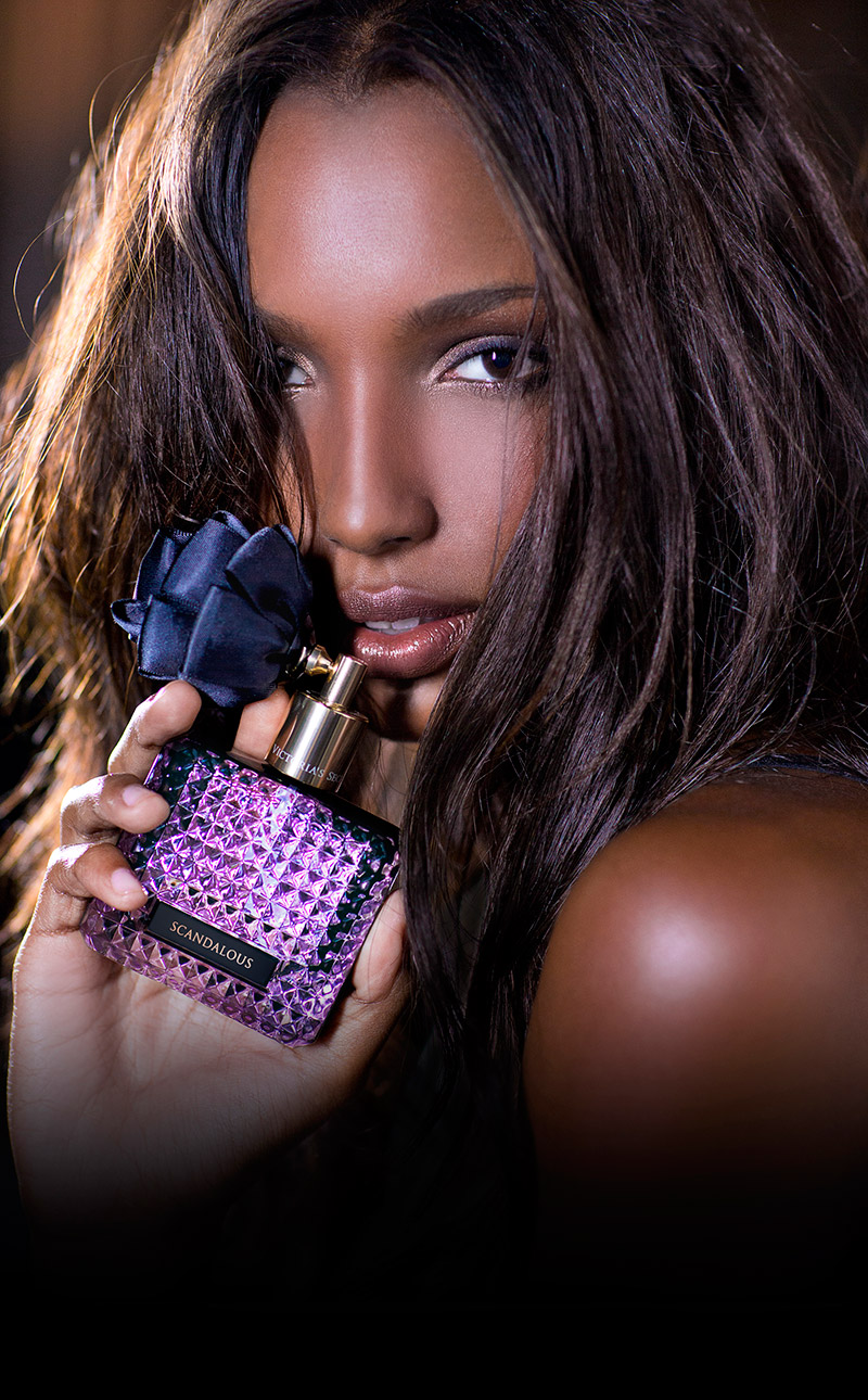 Jasmine Tookes Stars in 'Scandalous' Fragrance Ad for Victoria's Secret