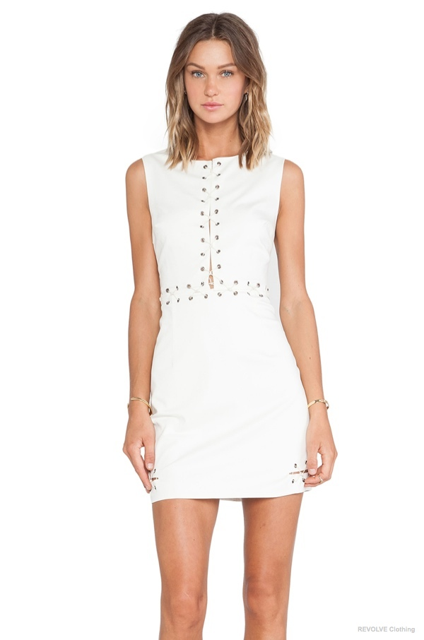 wish halt dress cream 4 Dresses to Get From REVOLVE Clothings Fall Sale