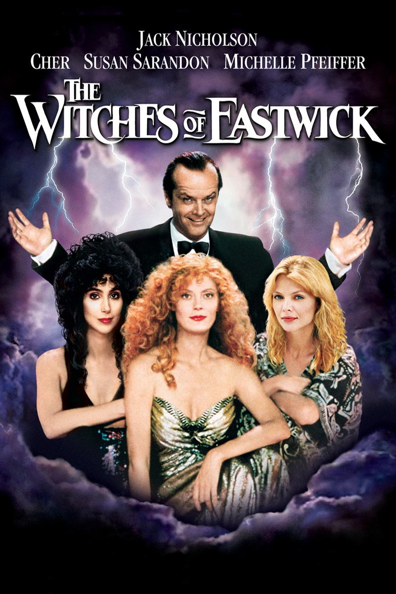 the witches of eastwick 1987 - Halloween Movies About Witches
