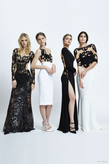 Zuhair Murad Goes Bohemian Luxe for Spring 2015 Collection
