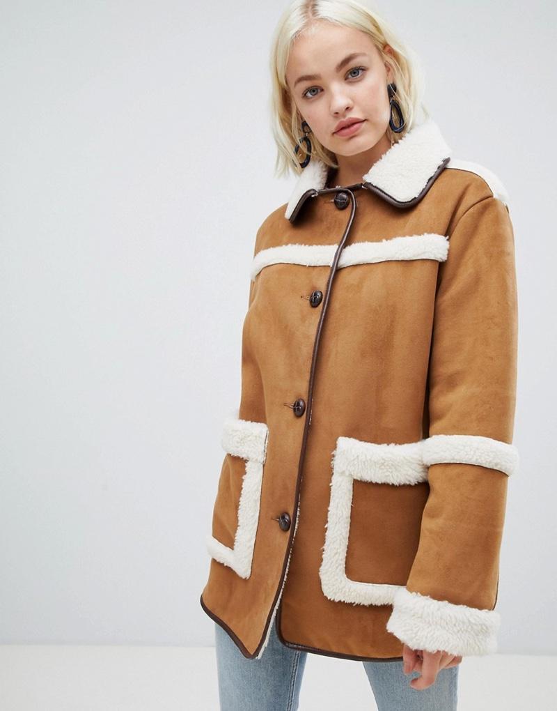 ASOS Design Vintage Style Borg Jacket $88.50 (previously $111)