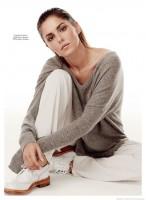 Cheryl Fernandez-Versini Poses for David Roemer in Marie Claire UK Shoot