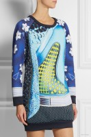 adidas Originals Mary Katrantzou Rowdy scuba-jersey mini dress available at Net-a-Porter for $280
