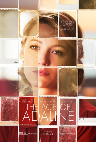 The Age of Adaline Movie Poster with Blake Lively. Photo courtesy of Lionsgate.