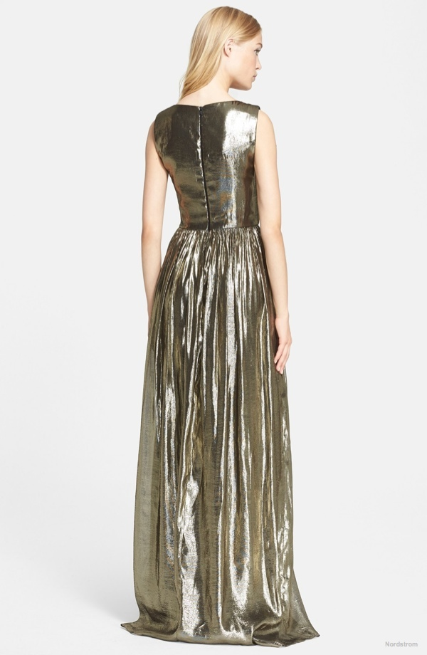 alicia-olivia-issa-pleated-lame-gown2