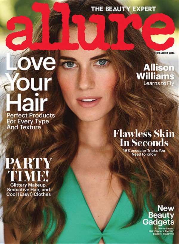 allison-williams-allure-magazine-december-2014-cover
