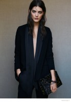 Katryn Kruger Fronts AllSaints Holiday 2014 Campaign