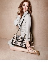 Amy Adams Gets Glam for Max Mara Spring 2015 Accessories Ad