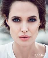 Angelina Jolie Poses for DuJour, Talks Directing Brad Pitt