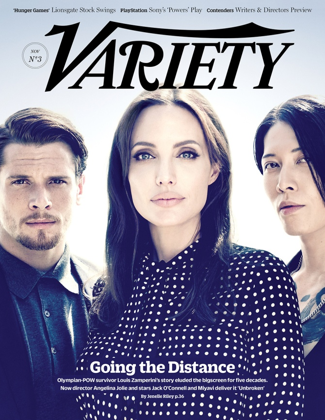 "Angelina Jolie Covers Variety, Says She'll Act ""A Few More"" Times"