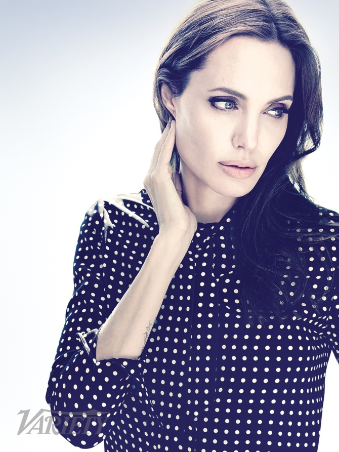 "Angelina Jolie Covers Variety, Says She'll Act ""A Few More ..."