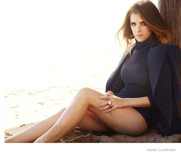 Anna Kendrick Covers Marie Claire, Talks People Criticizing Her Looks