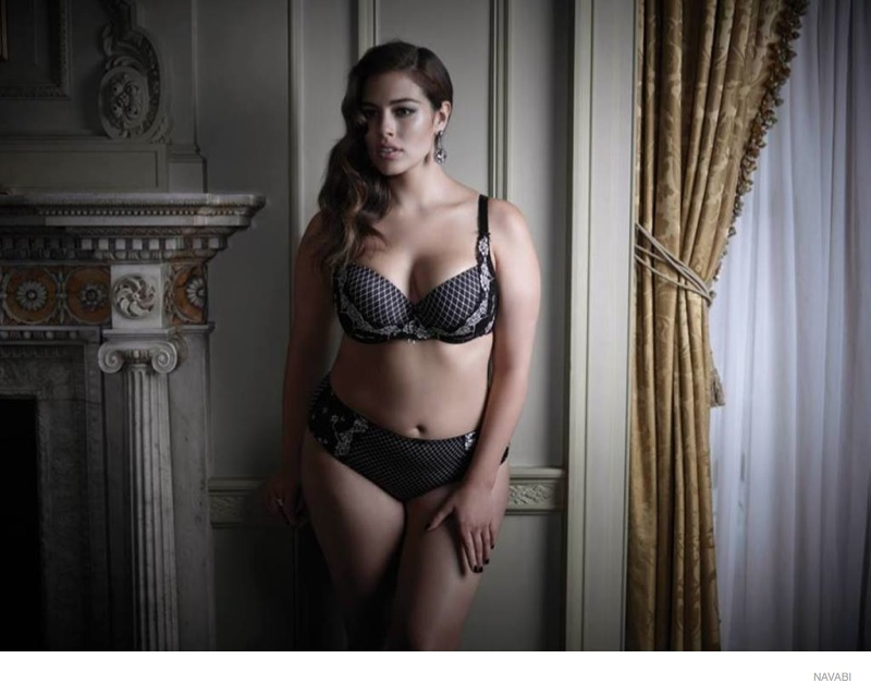 cf2687f11 Ashley Graham Does Plus Size Lingerie Collection for Navabi ...