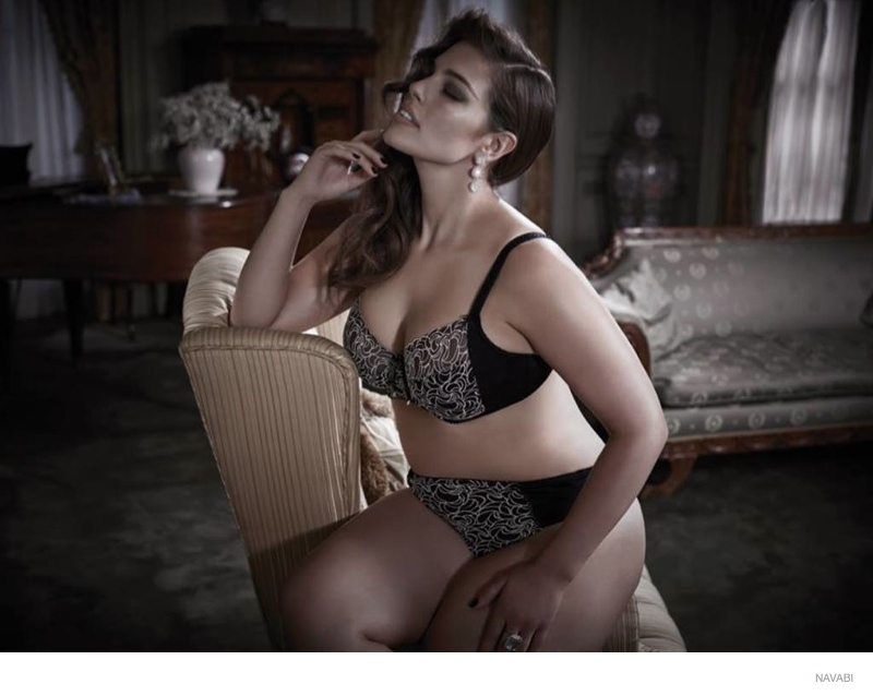 e5b97d379b686 Ashley Graham Does Plus Size Lingerie Collection for Navabi ...