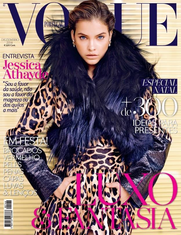 Barbara Palvin Gets Wild for Vogue Portugal December 2014 Cover