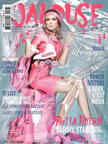 Bella Hadid is a Barbie Girl for Jalouse Cover