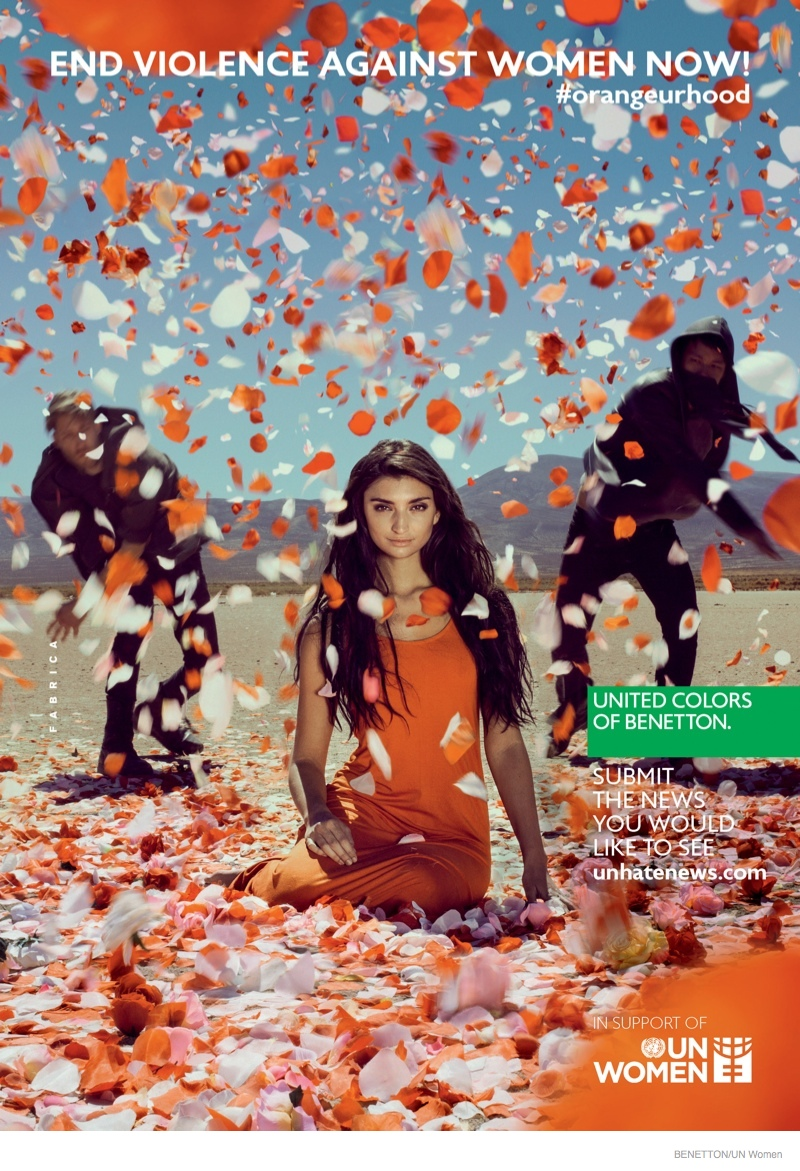 Benetton & the UN Launch End Violence Against Women Campaign