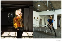 Tiffany Wears Sleek Style in Jurij Treskow Photos