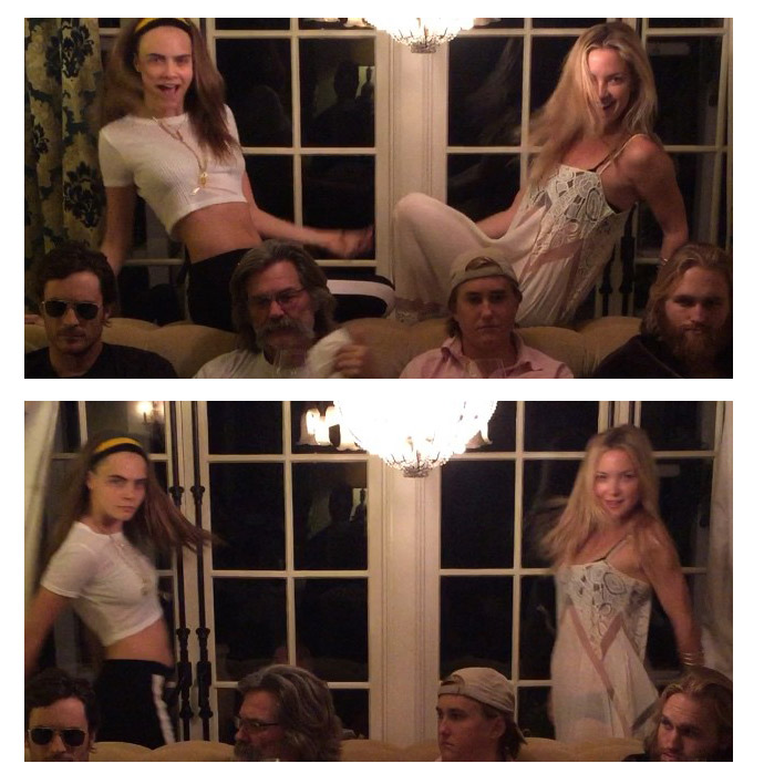 Cara Delevingne Did a Thanksgiving Dance Wars Video with Kate Hudson