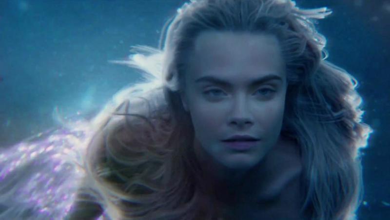 """Pan"" Trailer Features Mermaid Cara Delevingne, Tiger Lily + More"